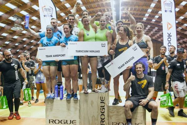 podium teams french throwdown 2015