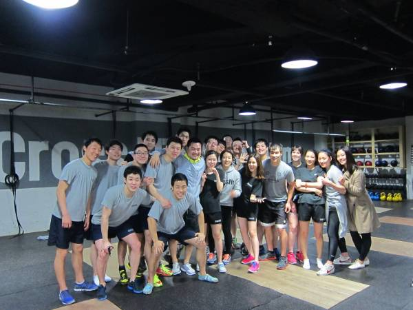 L'equipe de CrossFit ®* Gangnam