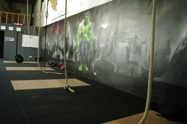 Vue d'ensemble de la box CrossFit ®* Brauhauban