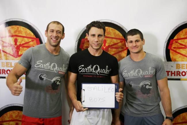 Manu de CrossFit ®* Saint Simon avec l'equipe Galileo