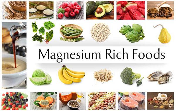 Les aliments riches en magnesium
