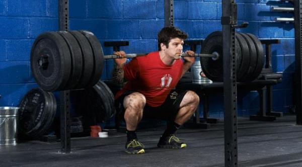 squat lourd crossfit