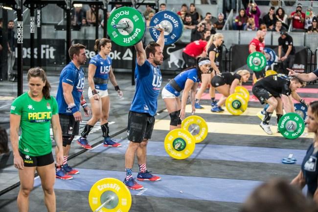 Reebok CrossFit Invitational 2015-En plein WOD