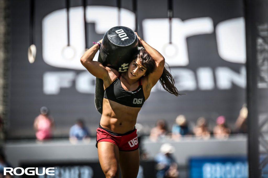 La-crossfitteuse-Lauren-Fisher-lors-des-CrossFit-Games
