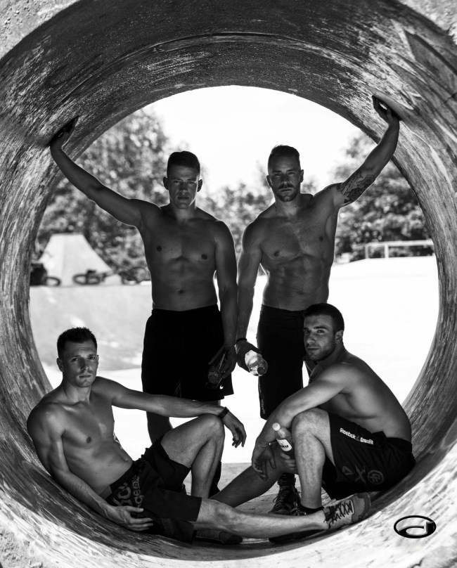 Raphael, Christophe, William et Mike