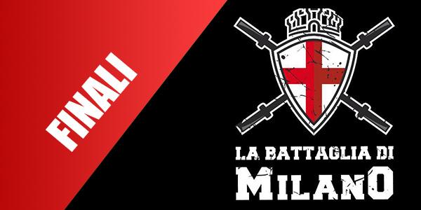 9 10 ottobre la battaglia di milano finali wodnews for Battaglia di milano