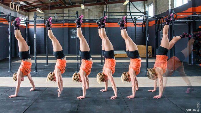 handstand walk progressione
