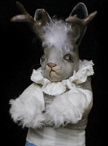 Jackalope Doll