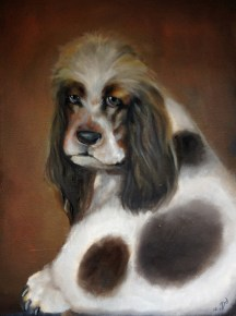 PIPPA (commissioned portrait) | 2013 | oil on canvas