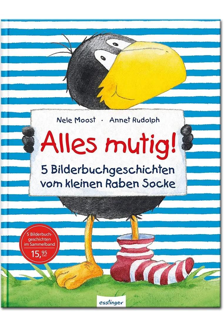 Kleiner Rabe Socke Alles mutig! - 5 Bilderbuchgeschichten