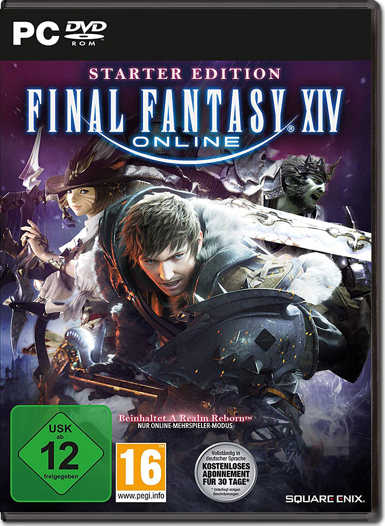 Final Fantasy 14 Online Starter Edition PC Games
