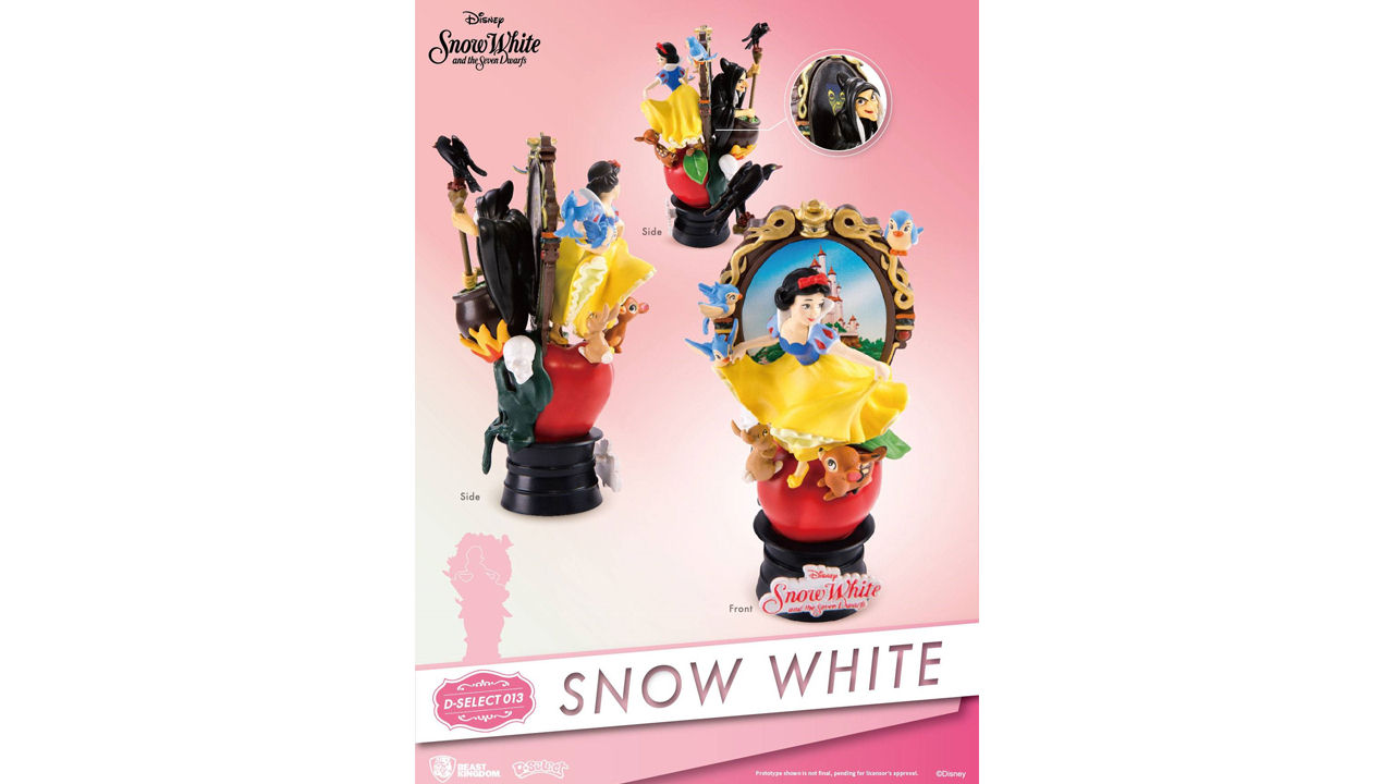 hight resolution of snow white diorama stage 013