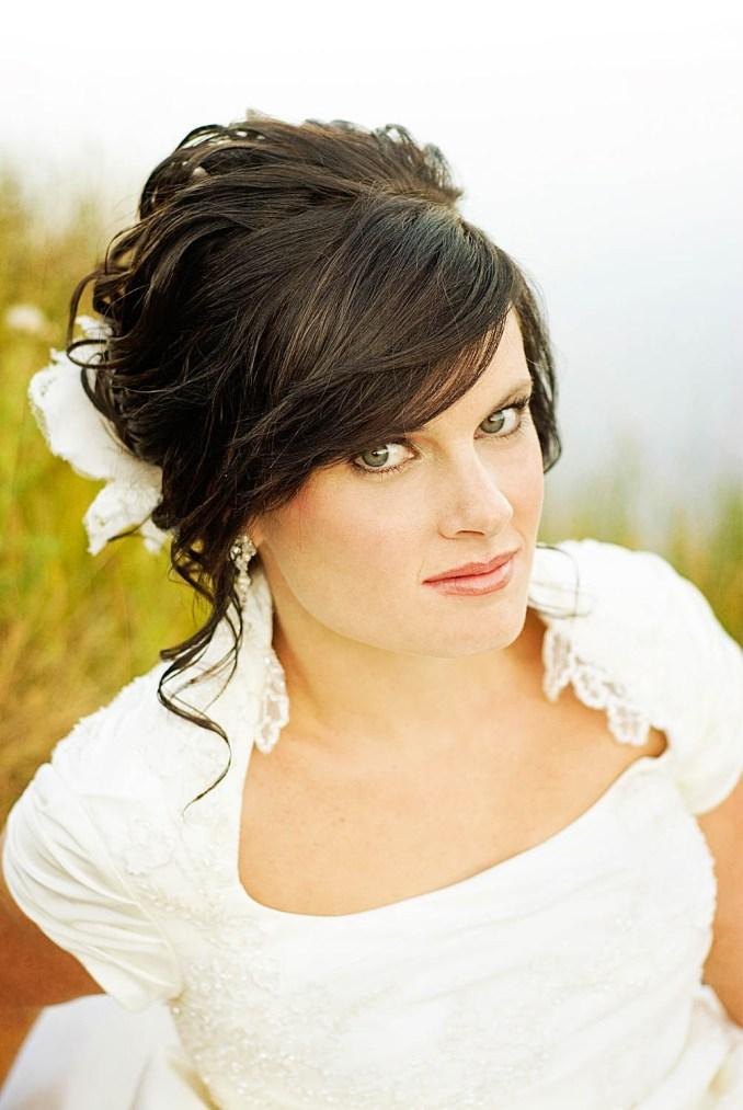 20 fringe wedding hairstyles ideas - wohh wedding