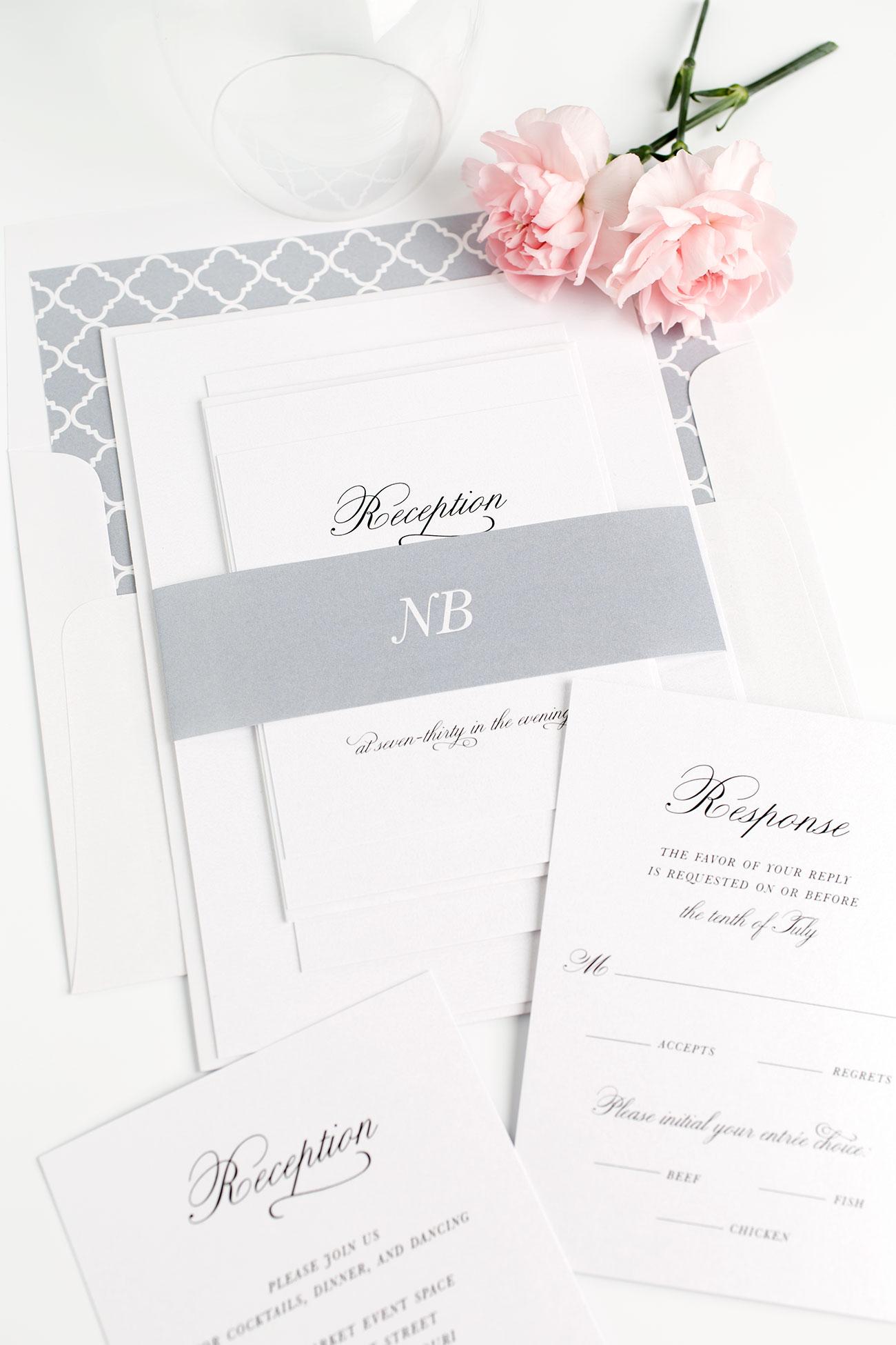 30 Classic Wedding Invitations Ideas  Wohh Wedding