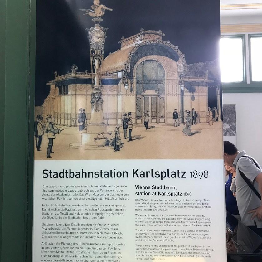 Stadtbahn Karlsplatz anno 1898