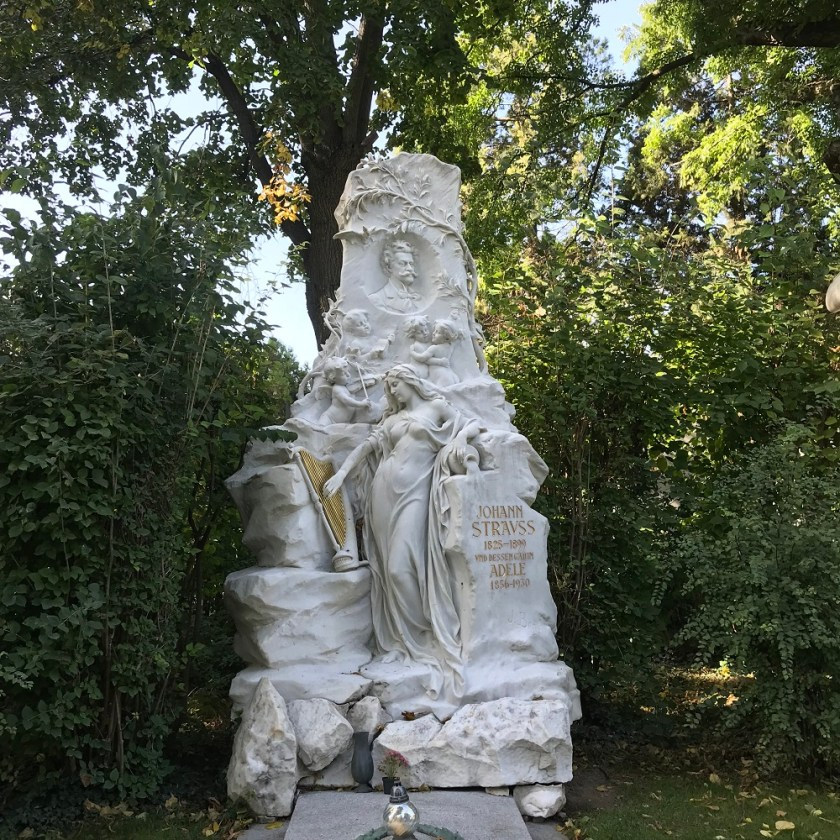 Ehrengrab Johann Strauß Sohn