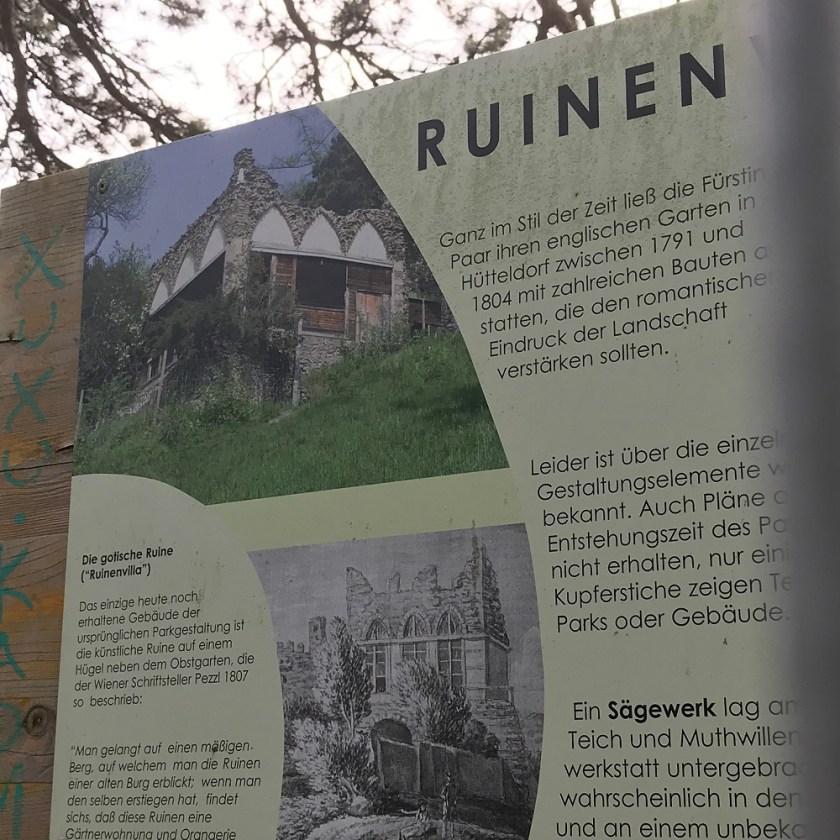 Ruinenvilla im Dehnepark