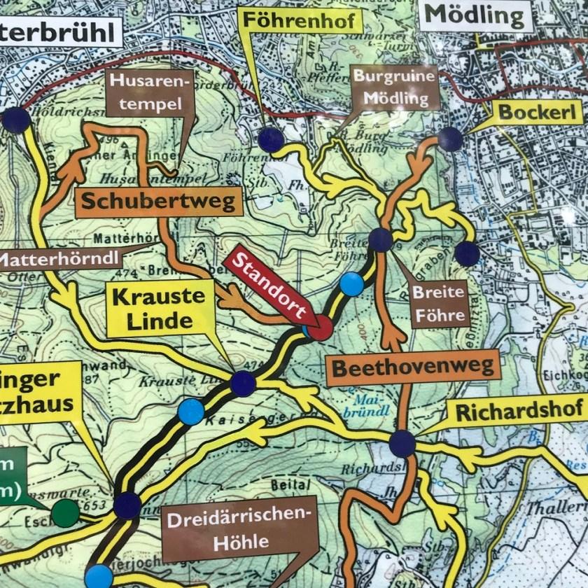 Übersichtsplan Föhrenberge