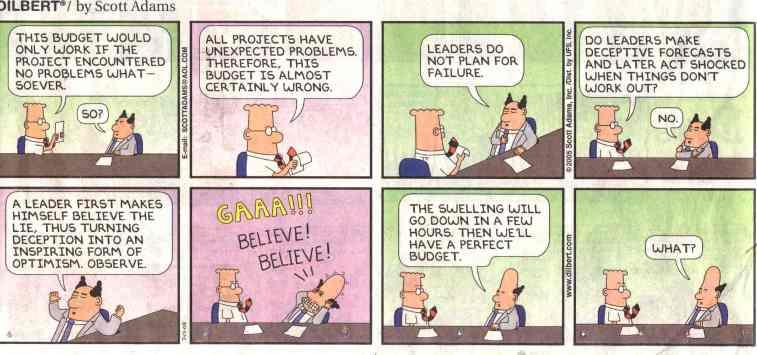 Dilbert on leadership