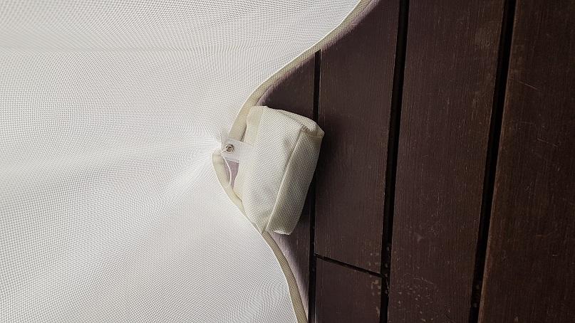 wetterfeste fleckenabweisende outdoor Vorhnge fr den Durchblick von innen nach aussen aber