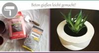 Beton gieen Anleitung und Tipps fr DIY-Artikel  wohncore