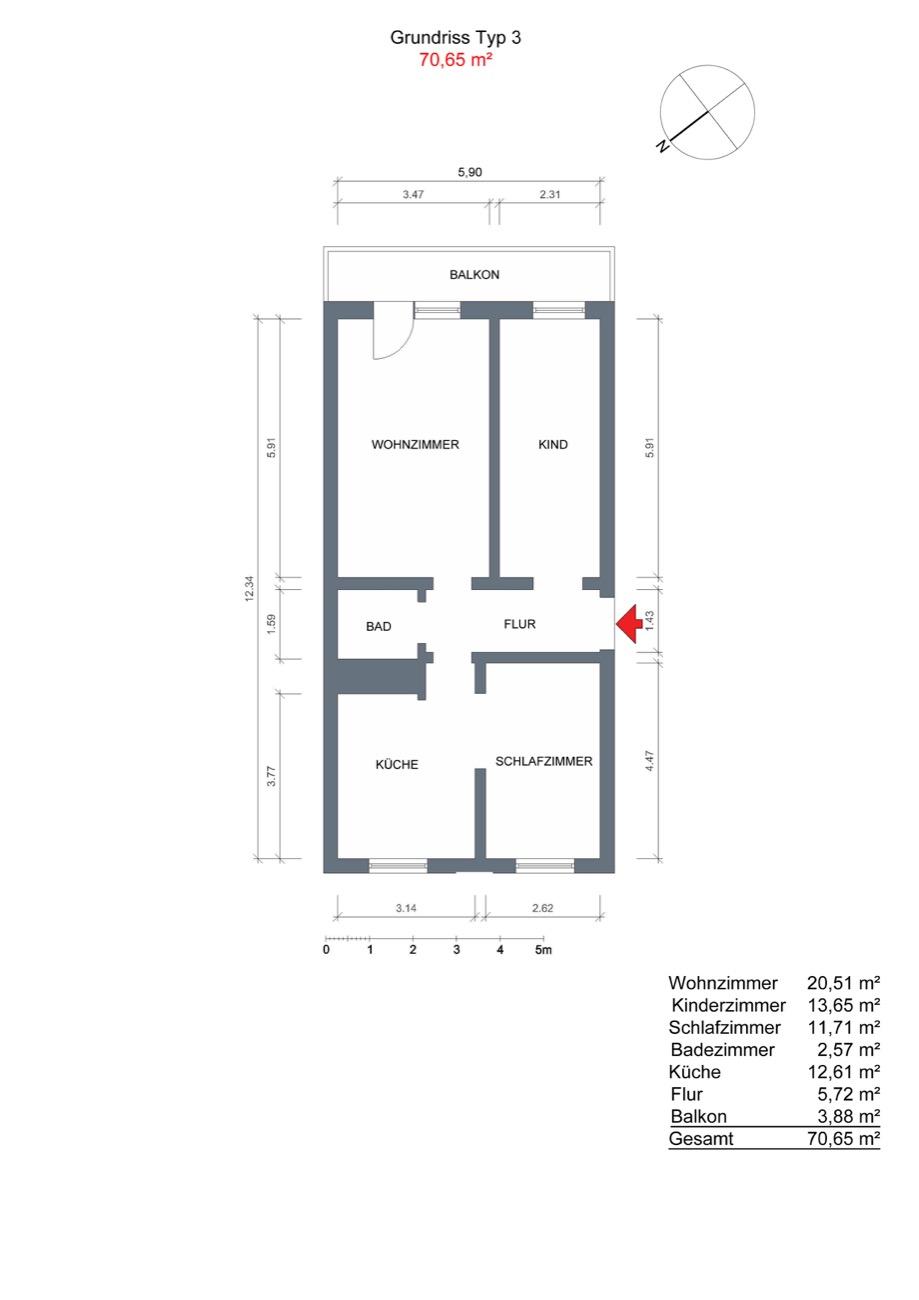 Galerie Wohnungstypen Grundrisse Umgebung