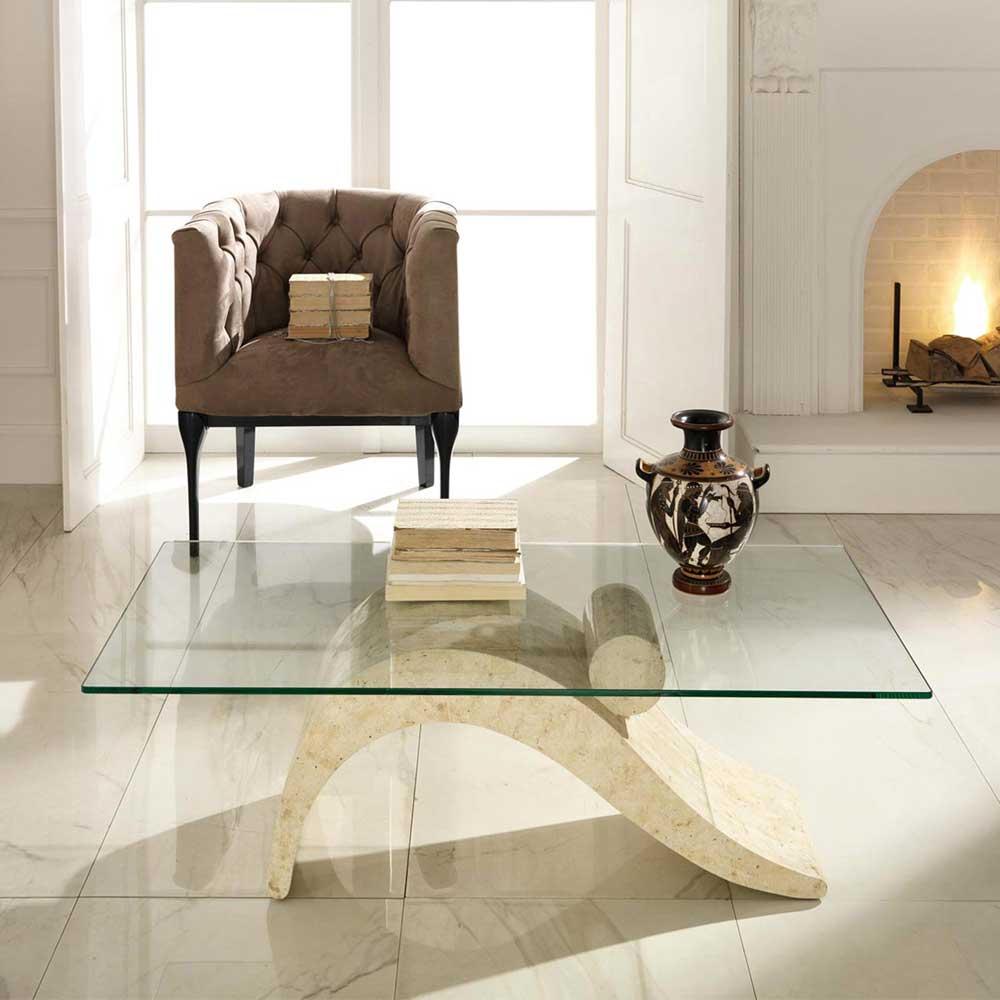 Couchtische Stein Fossilstein Modern Design | Möbelideen, Wohnzimmer Dekoo