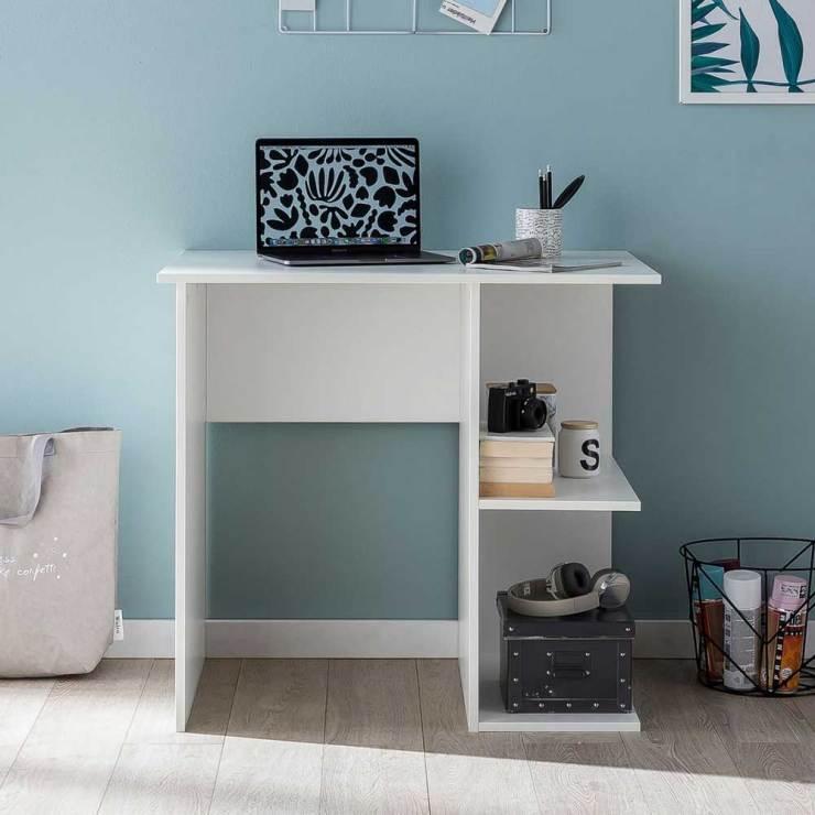 Schreibtisch Klein Weiß 2021