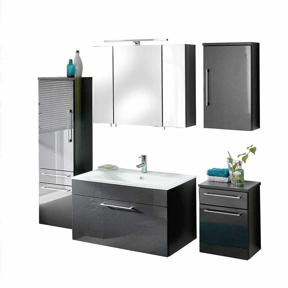 KomplettBadezimmer inklusive Waschbecken Zenvis  Wohnende