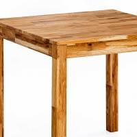 Massiver Holz Esstisch aus geölter Eiche in 3 Größen im ...