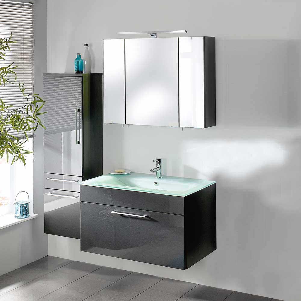 Badezimmer Waschbecken Glas
