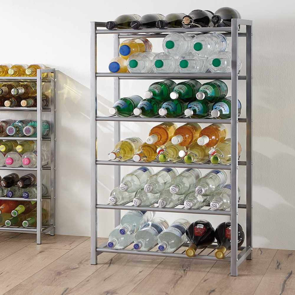 Regal Zolkan fr Ihre Flaschen aus Stahlrohr  Wohnende