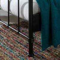 Schlafzimmer Bett Ellis in Schwarz aus Metall | Wohnen.de