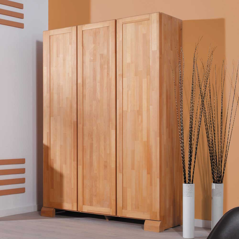Schlafzimmerschrank Lobos aus Buche Massivholz  Wohnende