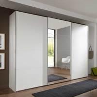 Schlafzimmerschrank Ray mit 3 Schiebetüren   Wohnen.de