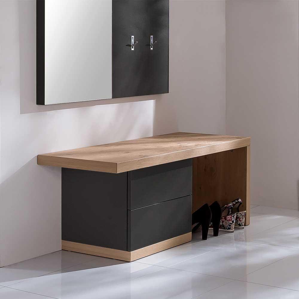 Sitzbank Huelvas fr Ihre Garderobe mit Schubladen Wohnende