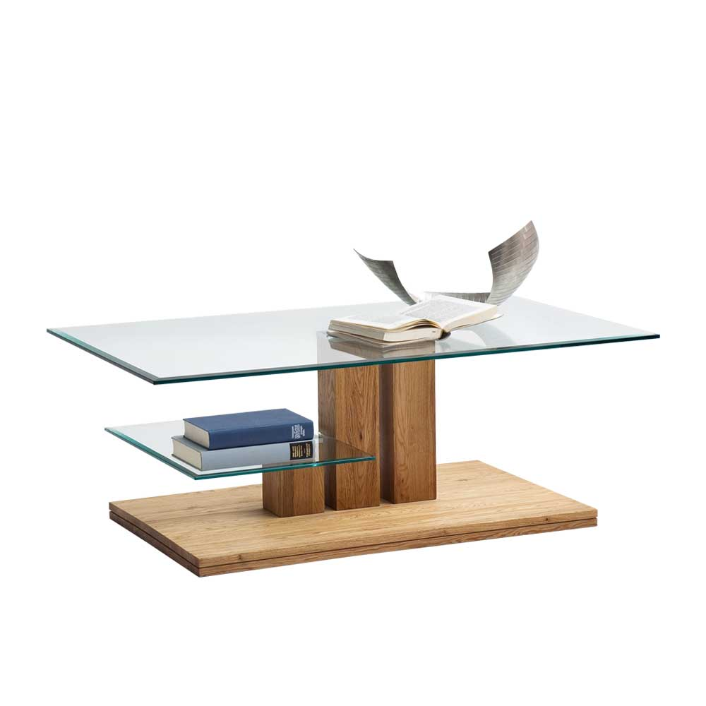 Jpg Wohnzimmer Couchtisch Eiche Massivholz Glas Tresema