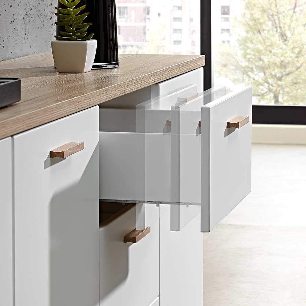 wohnzimmer sideboard weiss schubladen farina html 02 jpg