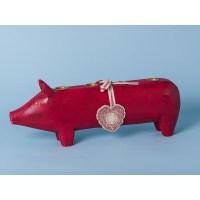 Maileg - Adventsschwein rot - gro - Kerzen - Hier im Shop!!!