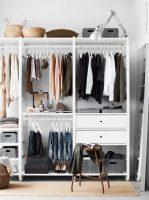 Begehbarer kleiderschrank IKEA ELVARLI   Wohnideen einrichten