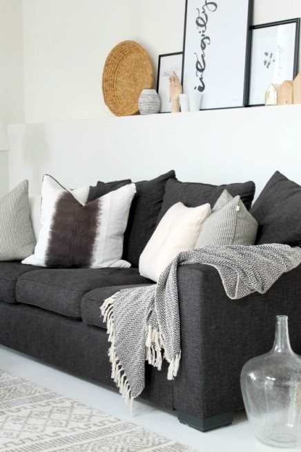 curtains to go with black leather sofa crate and barrel sectional 15x grau   wohnideen einrichten