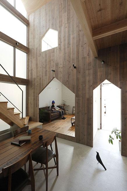 Hazukashi House in Japan  Wohnideen einrichten