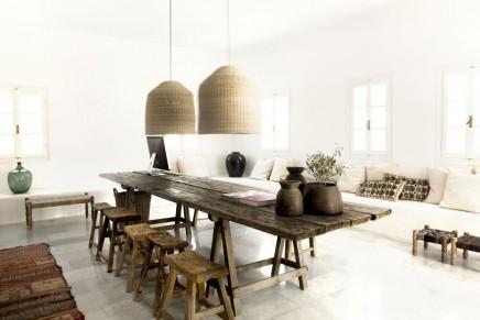 Ibiza Stil Innenraum  Wohnideen einrichten