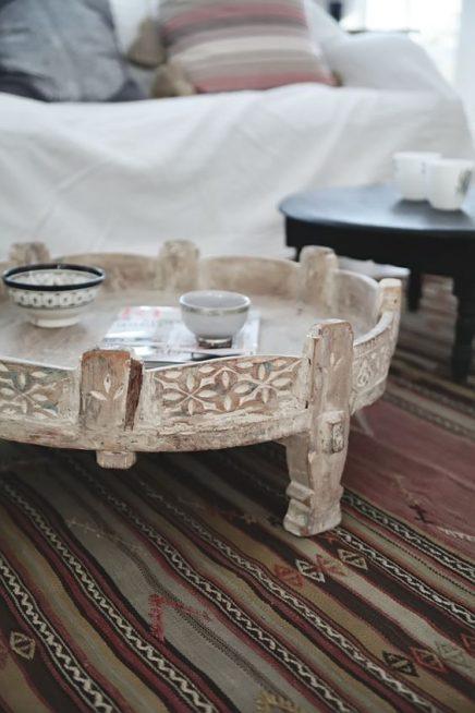 Marokkanische Tisch  Wohnideen einrichten