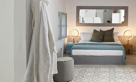 Schlafzimmer im griechischen Stil von CocoMat Eco  Wohnideen einrichten