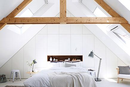 Schlafzimmer Umbau der Dachboden  Wohnideen einrichten