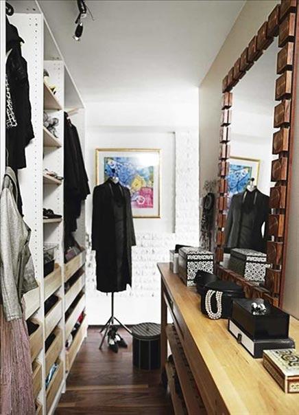 Schmale IKEA Begehbarer Kleiderschrank  Wohnideen einrichten