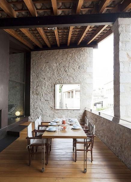 Spanisch Balkon mittelalterliches Herrenhaus  Wohnideen