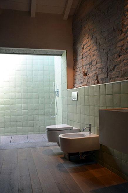 Warme rustikale Badezimmer  Wohnideen einrichten