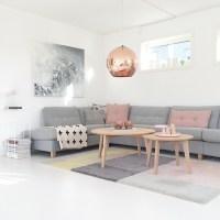 Wohnzimmer im skandinavischen Einrichtungsstil
